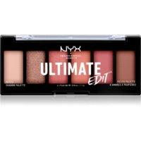 NYX Professional Makeup Ultimate Edit Petite Shadow szemhéjfesték paletta