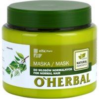 Maske für normales Haar