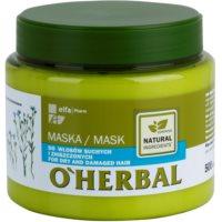маска  для сухого або пошкодженого волосся