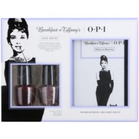 OPI Breakfast at Tiffany´s Love Notes coffret cosmétique I.