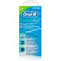 Oral B Super Floss dentálna niť pre strojček a implantáty