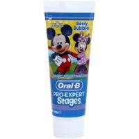 Oral B Pro-Expert Stages Mickey Mouse pasta de dentes para crianças