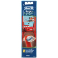 Oral B Stages Power EB10 Cars csere fejek a fogkeféhez extra soft
