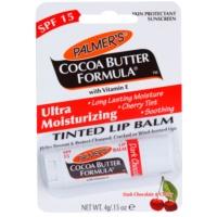 feuchtigkeitsspendendes, tönendes Lippenbalsam SPF 15