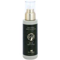 vyživujúci suchý olej na tvár, telo a vlasy