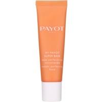 base con efecto luminoso para alisar la piel y minimizar los poros