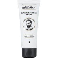 Percy Nobleman Face & Stubble tisztító gél az arcra és a szakállra