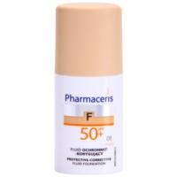 schützendes Cover - Make up SPF 50+