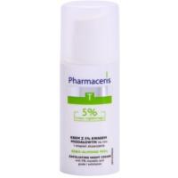 crema facial de noche reguladora y limpiadora para unificar el tono de la piel