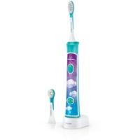 Philips Sonicare For Kids HX6322/04 sonična električna zobna ščetka za otroke z Bluetooth povezavo