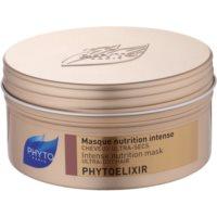 Mască intens nutritivă pentru păr uscat și poros