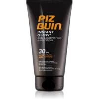 Piz Buin Instant Glow posvjetljujuća krema za sunčanje SPF 30