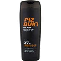 Piz Buin In Sun crème solaire hydratante SPF 20