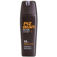 spray bronceador ligero SPF 15