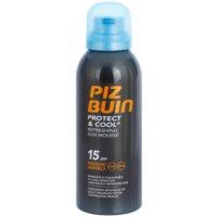 espuma bronceadora con efecto refrescante SPF 15