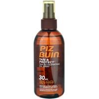 Piz Buin Tan & Protect ulei protector pentru accelerarea bronzului SPF 30