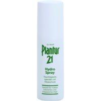hidratéló spray a hajformázáshoz, melyhez magas hőfokot használunk