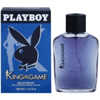 Playboy King Of The Game Eau de Toilette para homens