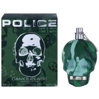 Police To Be Camouflage eau de toilette férfiaknak 125 ml