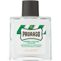 Proraso Green frissítő balzsam borotválkozás után