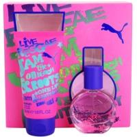 Puma Jam Woman ajándékszett II. Eau de Toilette 20 ml + tusfürdő gél 50 ml