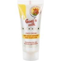 creme facial com sérum de leite de cabra