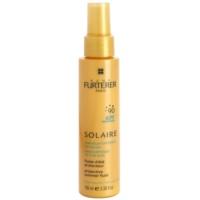 loción protectora para cabello contra los efectos del sol, el cloro y la sal