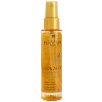aceite protector para cabello contra los efectos del sol, el cloro y la sal