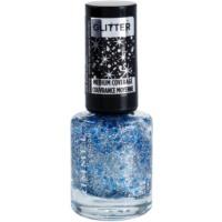 Rimmel Glitter Medium Coverage körömlakk csillámporral