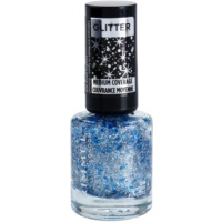 Rimmel Glitter Medium Coverage Nagellak  met Glitters