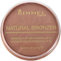 Rimmel Natural Bronzer po bronzeador à prova de água SPF 15