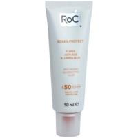 aufhellendes Schutz-Fluid gegen das Altern der Haut SPF 50