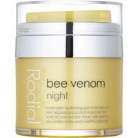 nočna krema za obraz s čebeljim strupom