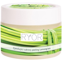 RYOR Lemongrass exfoliant din zhar pentru netezire pentru corp