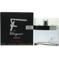 Salvatore Ferragamo F by Ferragamo Black Eau de Toilette for Men