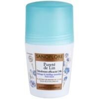 deodorant roll-on bez obsahu hliníku 24h
