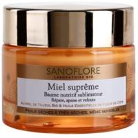 Sanoflore Miel Supreme Visage baume nourrissant pour peaux sèches à très sèches