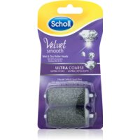 Scholl Velvet Smooth cabezales de recambio para lima eléctrica para pies con superficie ultra abrasiva