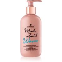 Schwarzkopf Professional Mad About Waves șampon hidratant pentru păr creț și ondulat fara sulfati