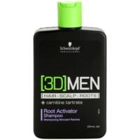 Schwarzkopf Professional [3D] MEN šampón pre aktiváciu korienkov