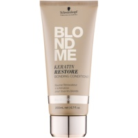 balsam regenerant cu keratina pentru toate nuantele de blond