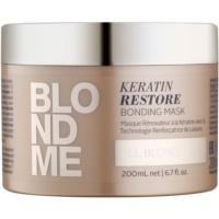 відновлююча маска для всіх відтінків блонд волосся