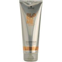 posilující šampon pro teplé odstíny blond