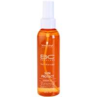 óleo cintilante para cabelo danificado pelo sol