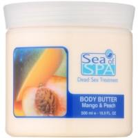 maslo za telo z mangom in breskvijo