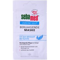 pomirjajoča maska za obraz z kamilico