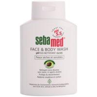 jemná umývacia emulzia na telo a tvár s olivovým olejom