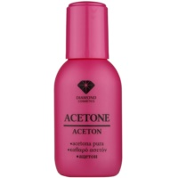 acetona pura para remoção do verniz gel