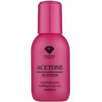 čistý aceton k odstranění gelových laků
