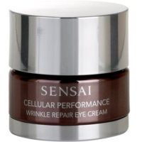 Sensai Cellular Performance Wrinkle Repair creme contorno de olhos antirrugas